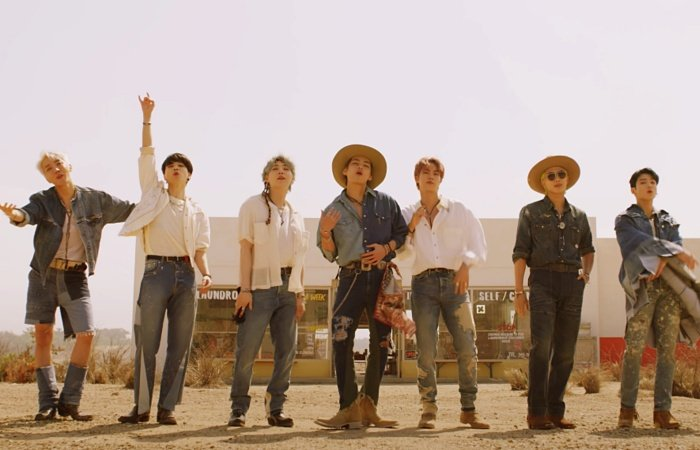 Jimin, J-Hope, V, RM, Jungkook, Jin y Suga