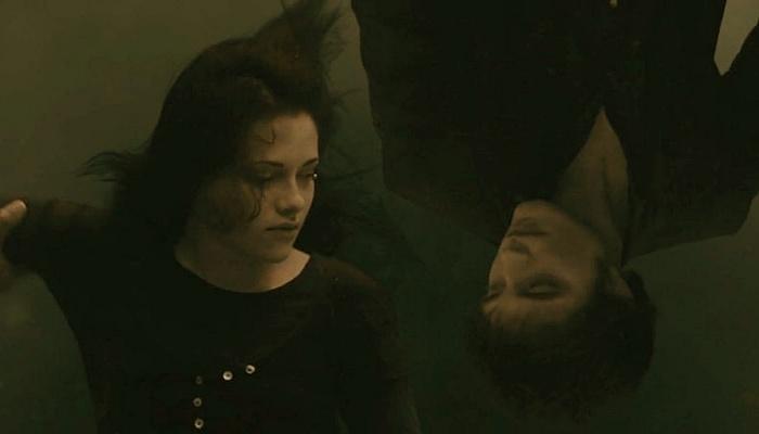 escena de la película 'Luna nueva' de Crepúsculo