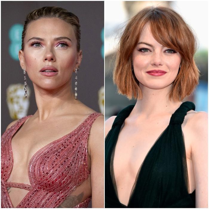 Scarlett Johansson y Emma Stone