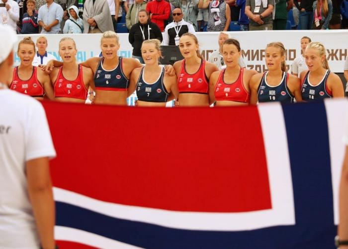 equipo femenino noruego de balonmano