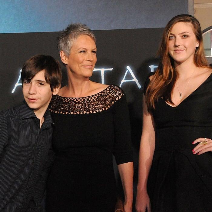 Jamie Lee Curtis y sus hijos