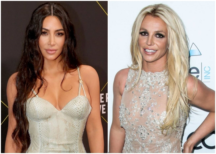 Kim Kardashian y Britney Spears