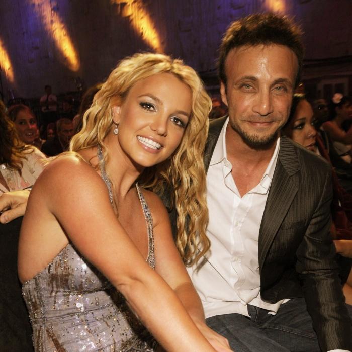 Britney Spears y Larry Rudolph