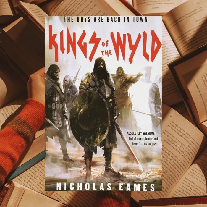 Reyes de la tierra salvaje de Nicholas Eames