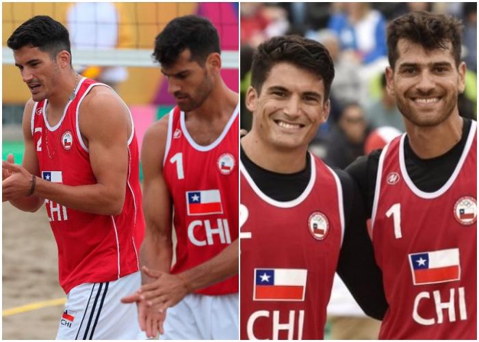 Marco y Esteban Grimalt - Volleyball, Chile
