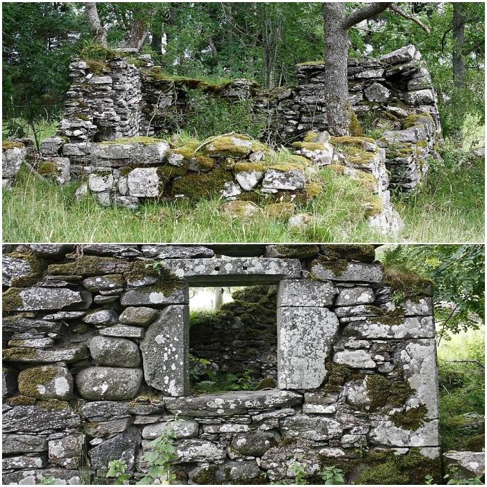 Villa de Lawers en Escocia