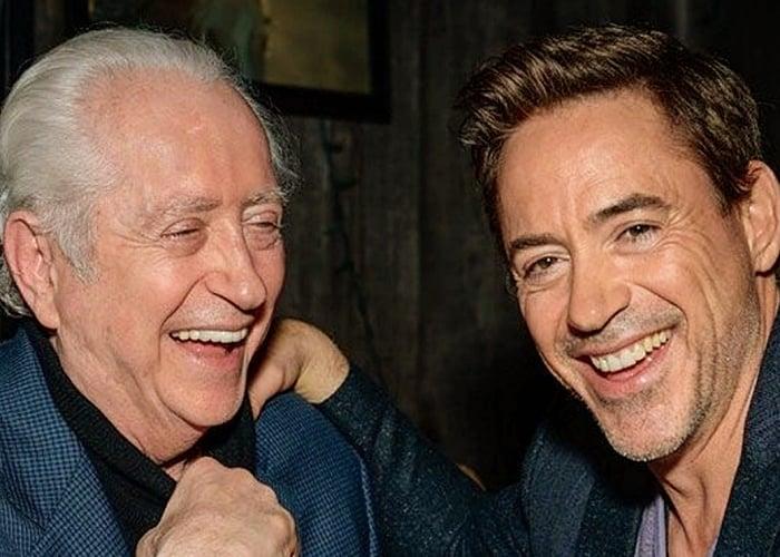 Robert Downey Jr. y su padre Robert Downey Sr.