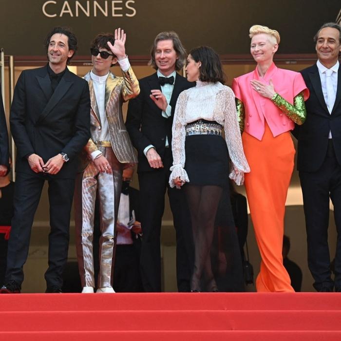Timothée Chalamet Bill Murray, Tilda Swinton, Adrien Brody, Benicio Del Toro y Owen Wilson