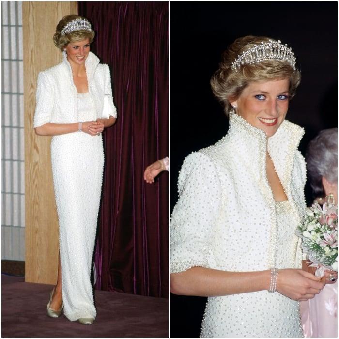"""El famoso """"Elvis dress"""" de 1989"""