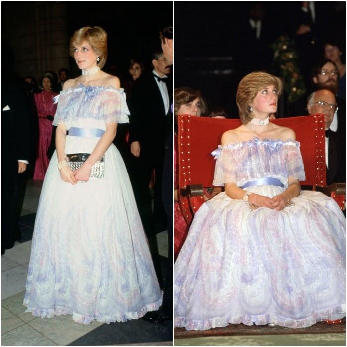vestido del museo Victoria & Albert de 1981