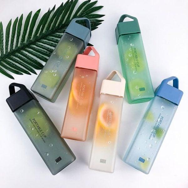 botella de agua ;13 Artículos ecológicos para cuidar del planeta y de ti