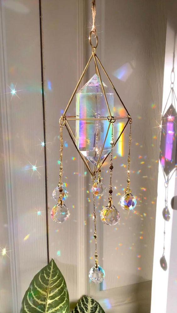lampara de cristal ;17 Imágenes que tu brujita interior amar ver una y otra vez