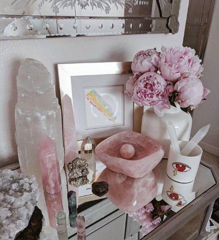 cuarzos rosas ;17 Imágenes que tu brujita interior amar ver una y otra vez