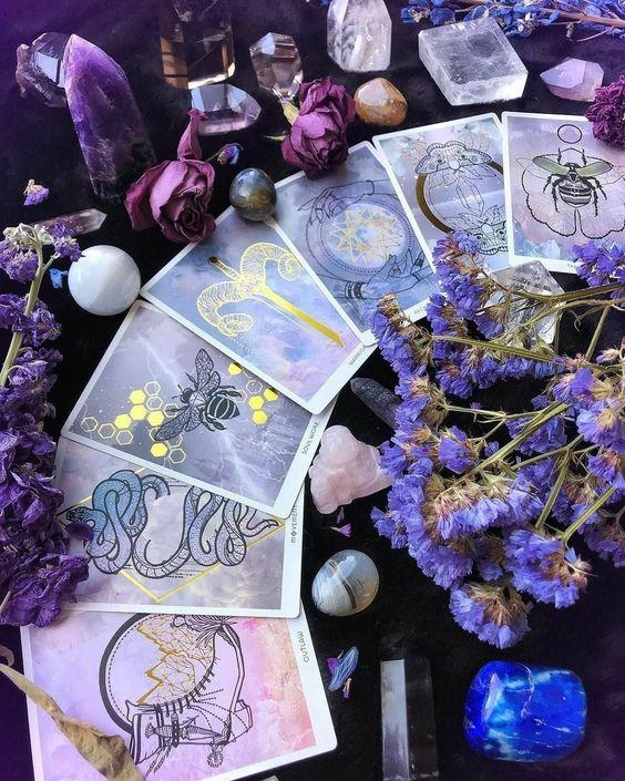 cartas de tarot ;17 Imágenes que tu brujita interior amar ver una y otra vez