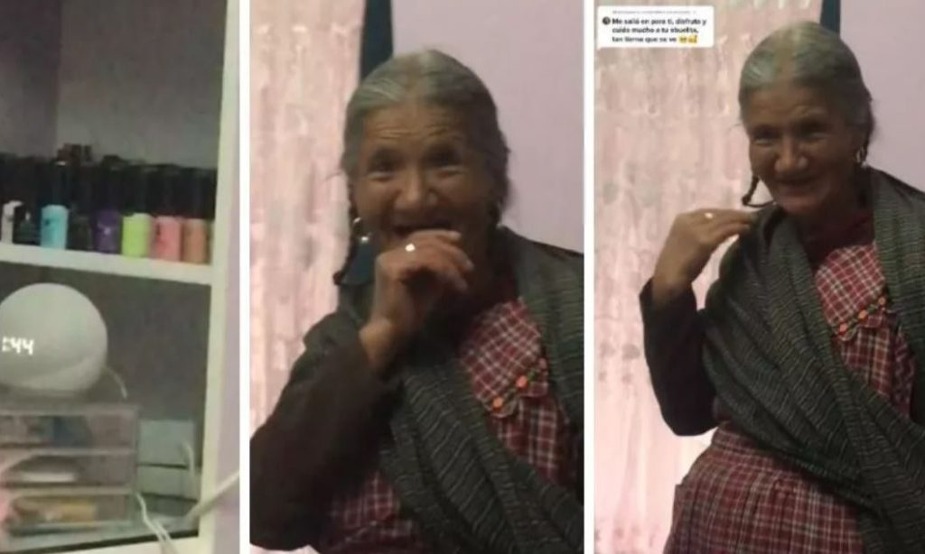Abuelita le pide a Alexa que rece el rosario y su reacción se hace viral