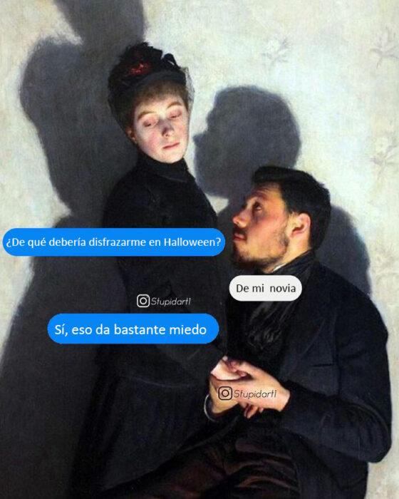 Obras de arte modificadas con cuadros de dialogo