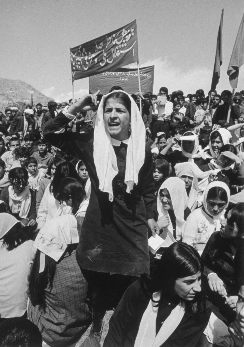 Mujeres en lucha por sus derechos ;Así era la vida de las mujeres de Afganistán en los años 70