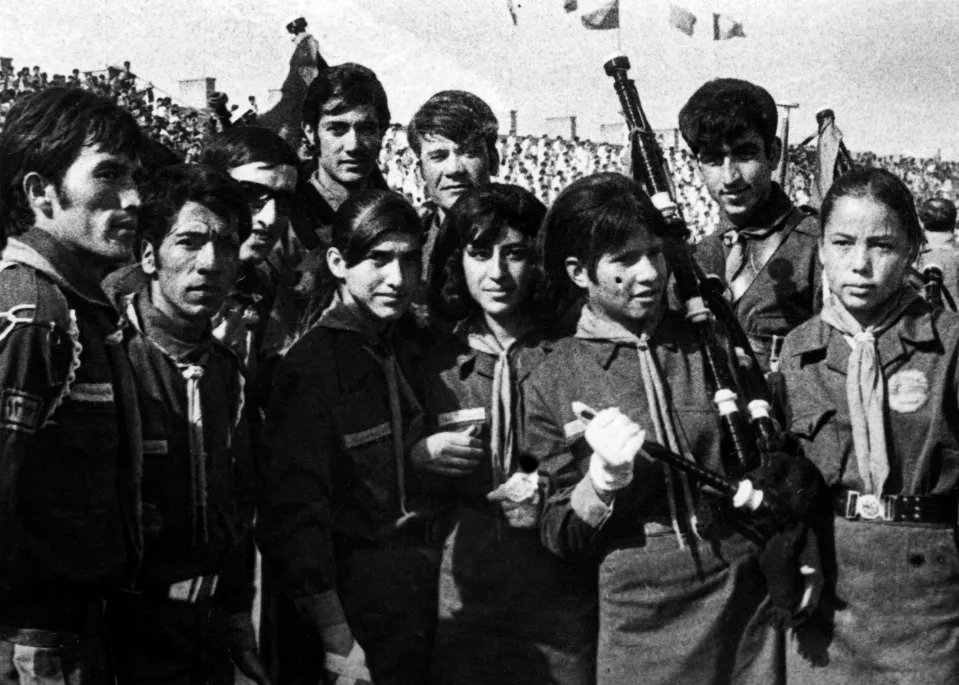 Mujeres en n equipo deportivo ;Así era la vida de las mujeres de Afganistán en los años 70