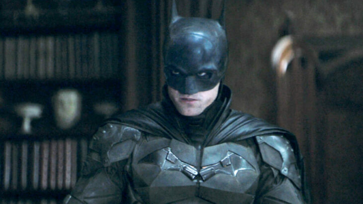 Robert pattinson vestido como Batman