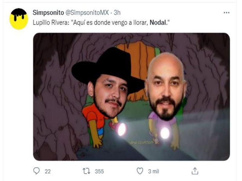 Meme de Lupillo y Nodal ;Belinda y Nodal podrían haber dado fin a su relación y se desatan lo memes en redes