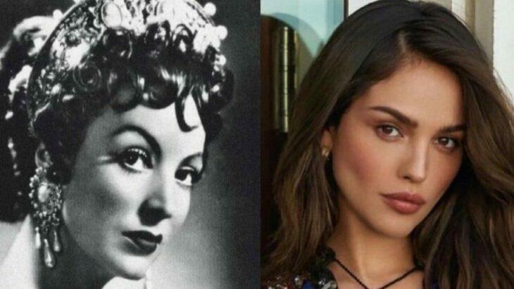 Eiza González comparada con María Félix