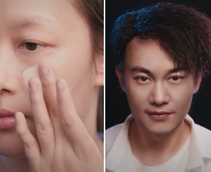 Eason Chan; Maquillista se transforma en celebridades y te hará sentir que ves doble