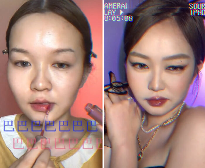 Jennie Kim; Maquillista se transforma en celebridades y te hará sentir que ves doble