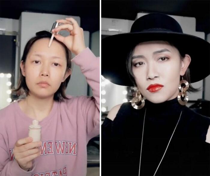 Anita Mui; Maquillista se transforma en celebridades y te hará sentir que ves doble
