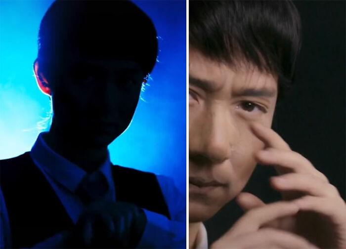 Jackie Chan; Maquillista se transforma en celebridades y te hará sentir que ves doble
