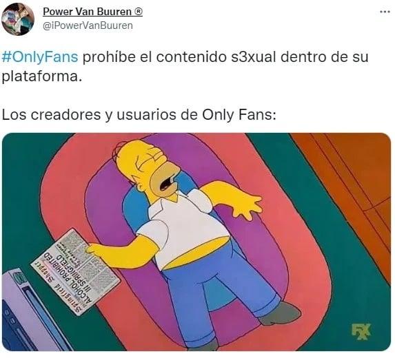 Memes de nlyfans al prohibir contenido