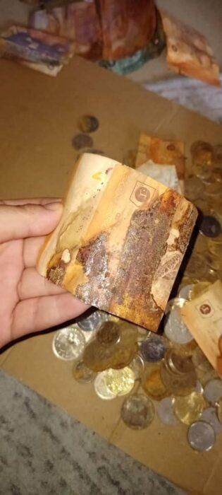 Billetes oxidados