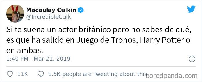 Tuits de Macaulay Culkin