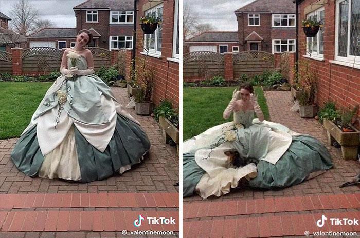 Tiana; Vestidos inspirados en Barbie y Princesas Disney
