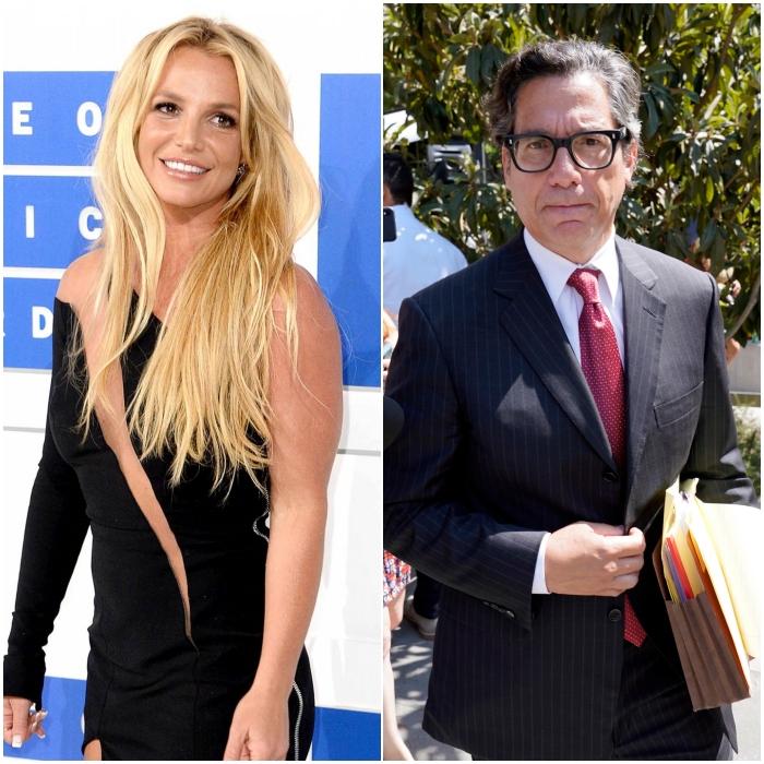 Britney Spears y Mathew Rosengart
