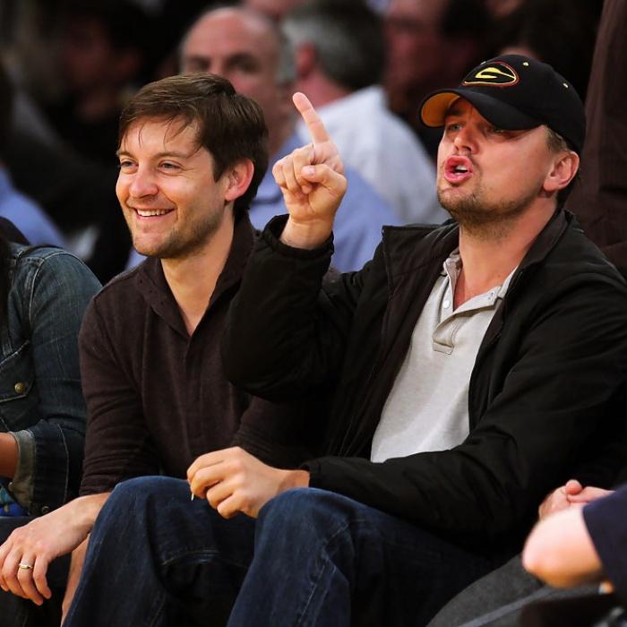 Tobey Maguire y Leonardo DiCaprio