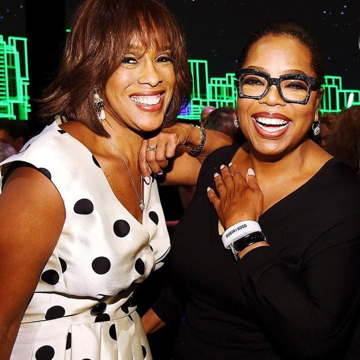 Oprah Winfrey y Gayle King