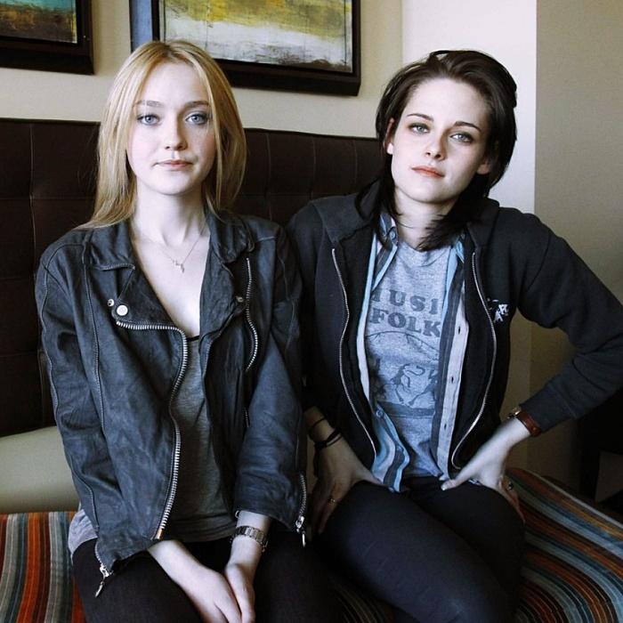 Kristen Stewart y Dakota Fanning