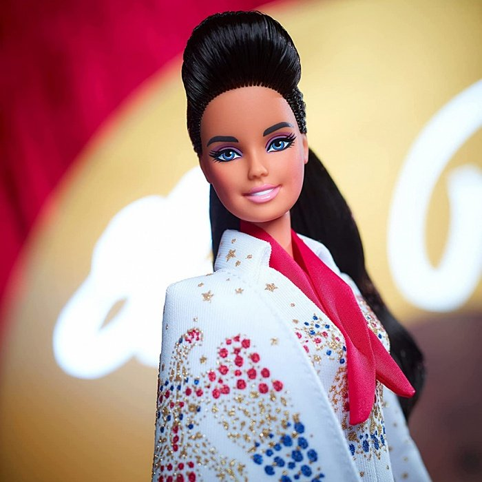 muñeca barbie inspirada en Elvis Presley