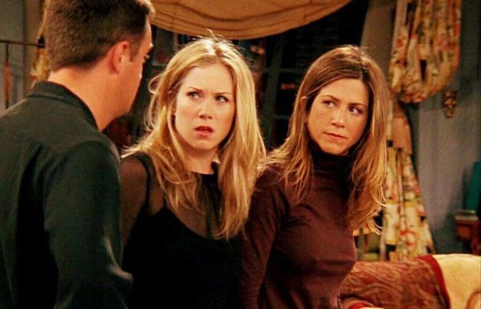 Christina Applegate, Jennifer Aniston y Matthew Perry