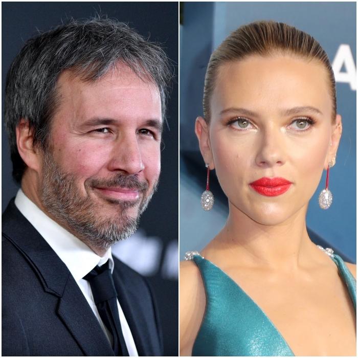 Denis Villeneuve y Scarlett Johansson