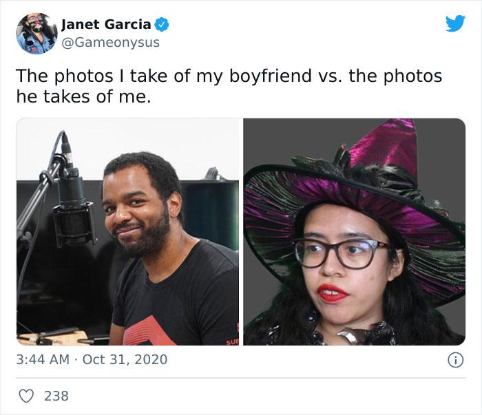 Pareja en el trabajo ;15 Veces que las fotos hechas por novias superaron a las de los novios