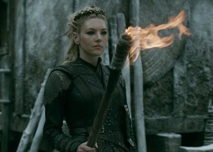 Lagertha en serie Vikings