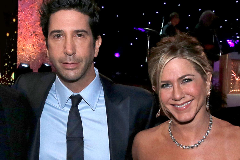Jennifer Aniston y David Schwimmer no están saliendo