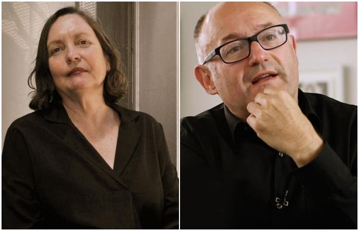 José Luis Rebordinos y Cristina Andreu