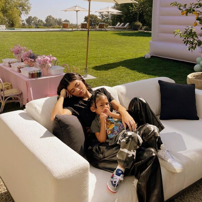 Kylie Jenner y Stormi Scott