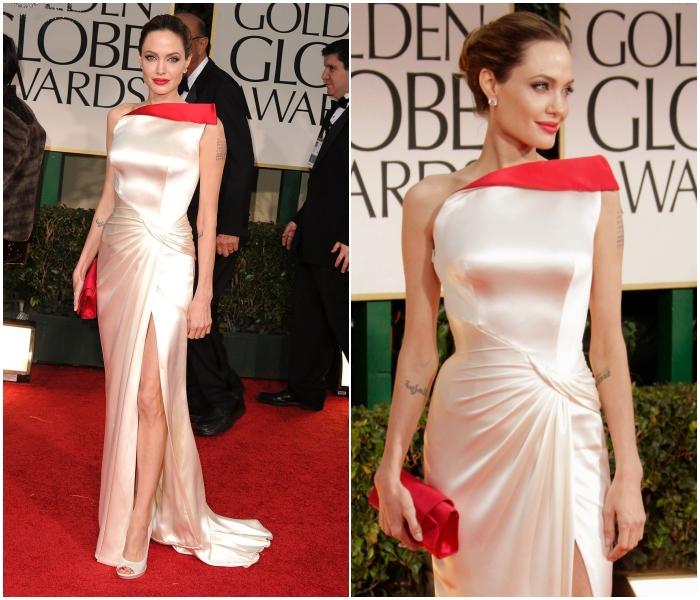 El 2012 lució este Atelier Versace