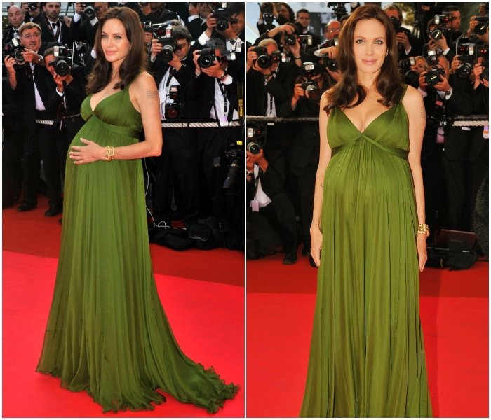 Embarazada en Cannes de 2008