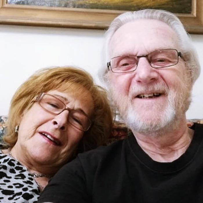Sharon Kalmus-Brown y Peter