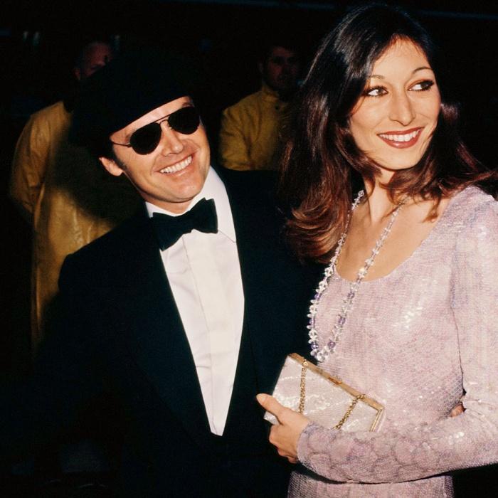 Anjelica Huston y Jack Nicholson