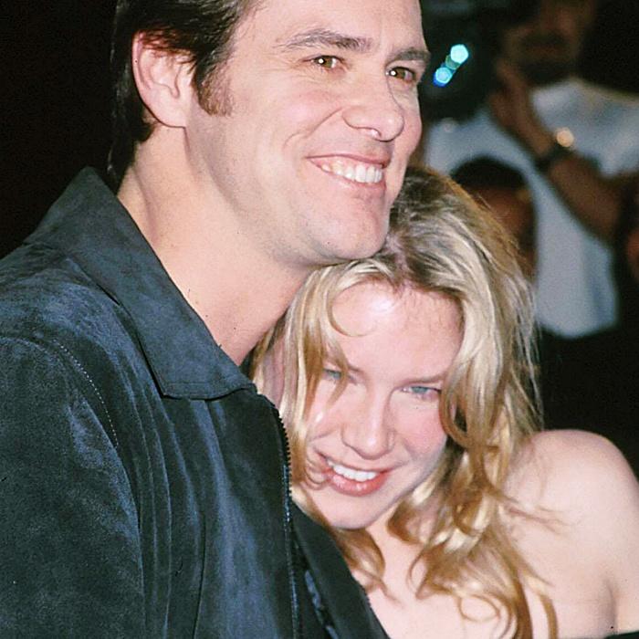 Renée Zellweger y Jim Carrey